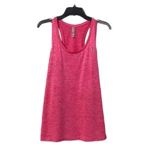Under Armour Heat Gear Pink Racer Back Tank Large